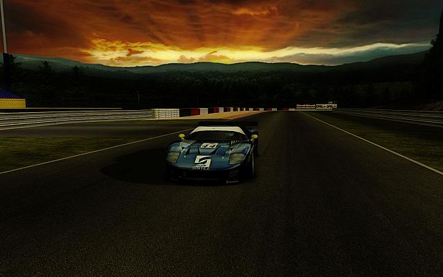 Ford GT Spa Sunset